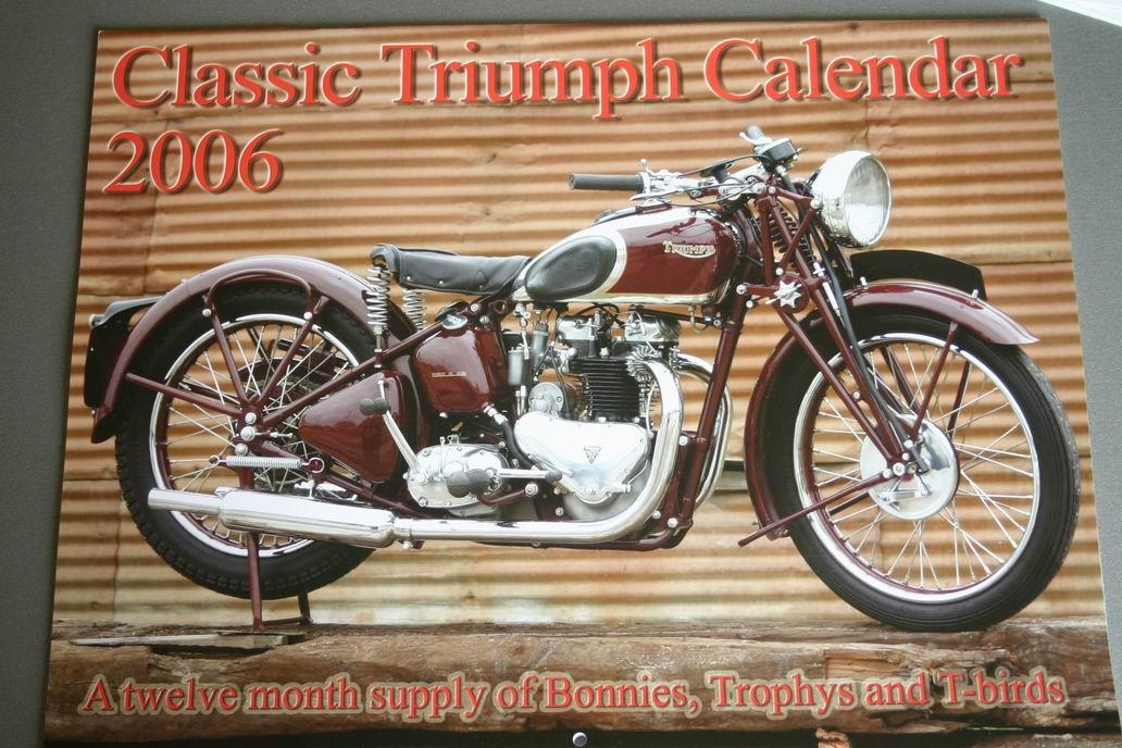 Calendari triumph classic motoclassiche