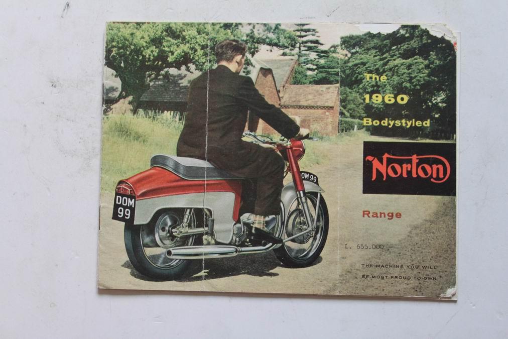 Deplian norton motoclassiche